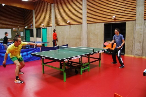 Stage de Tennis de table en Auvergne-1